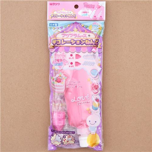 Fuwa Fuwa mousse clay whipped cream Japan decoden pink