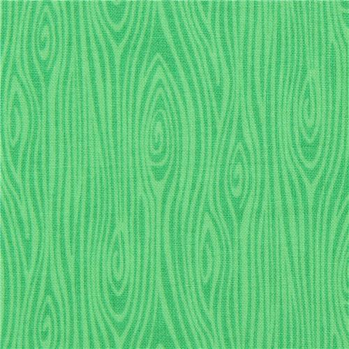 green Michael Miller fabric Just Wood Knot