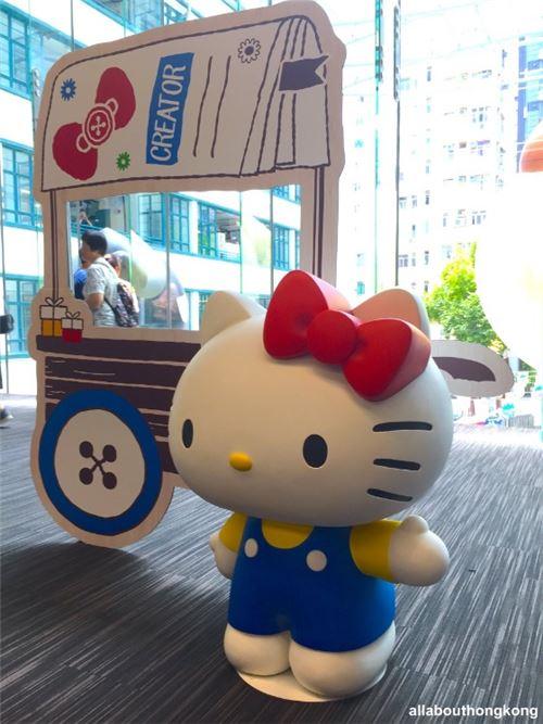 Hello Kitty says hi!