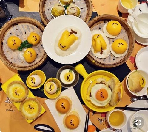 Check out these awesome Gudetama designs! ( photo by modgam.com )