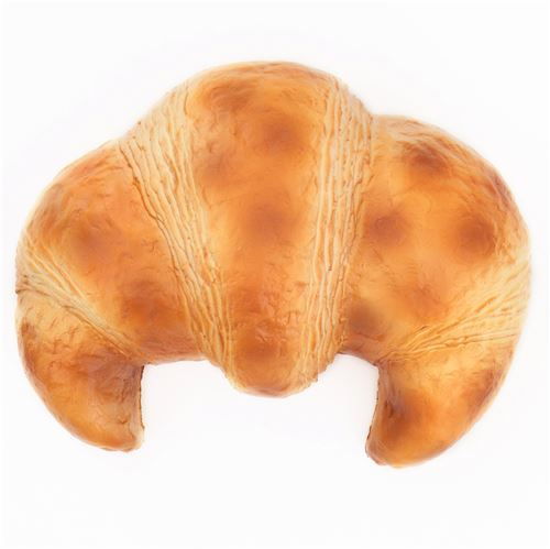 cute big light brown butter croissant bread scented squishy by Puni Maru