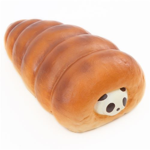 cute big vanilla panda cornet bread bun scented squishy by Puni Maru