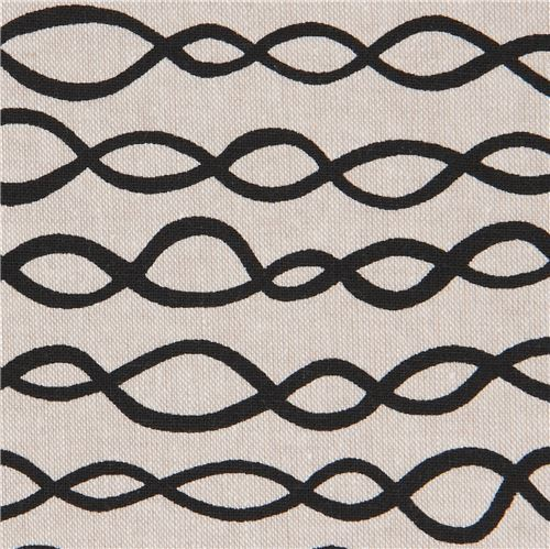 natural color Robert Kaufman black loop linen cotton fabric Arroyo Essex