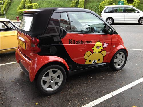 The kawaii on this Smart looks really adorable