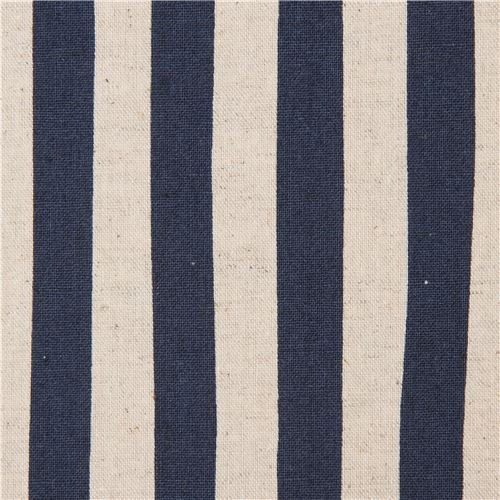 Robert Kaufman canvas fabric with stripes