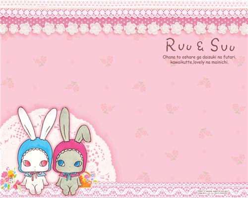 Super kawaii bunnies