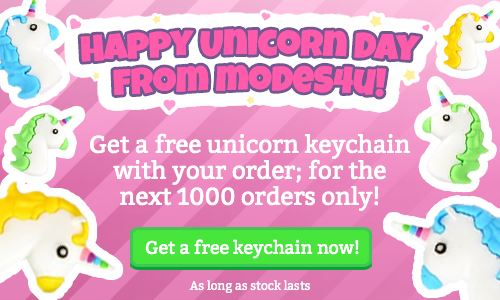 Get a FREE unicorn-themed gift with your order!!