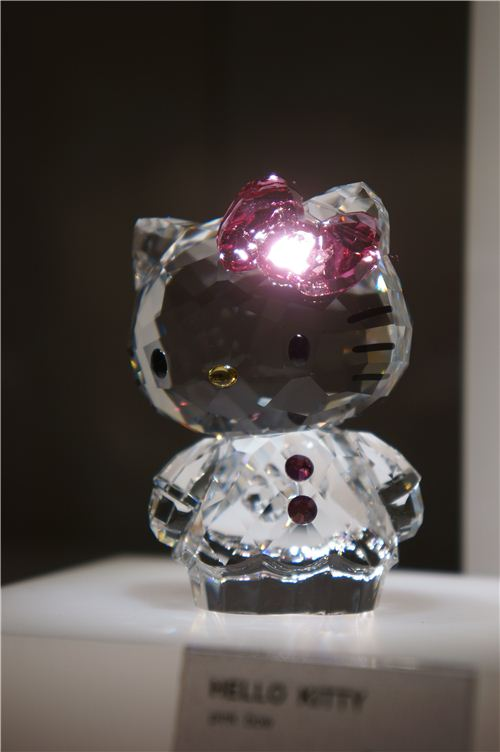 bling bling - the Hello Kitty figures sparke and shine