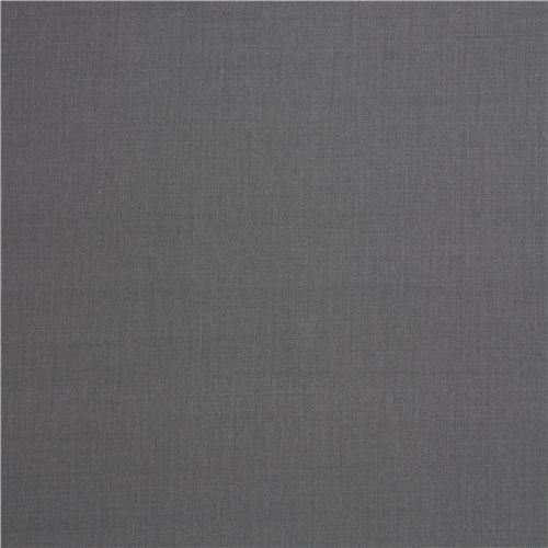 solid dark grey fabric Robert Kaufman USA Graphite