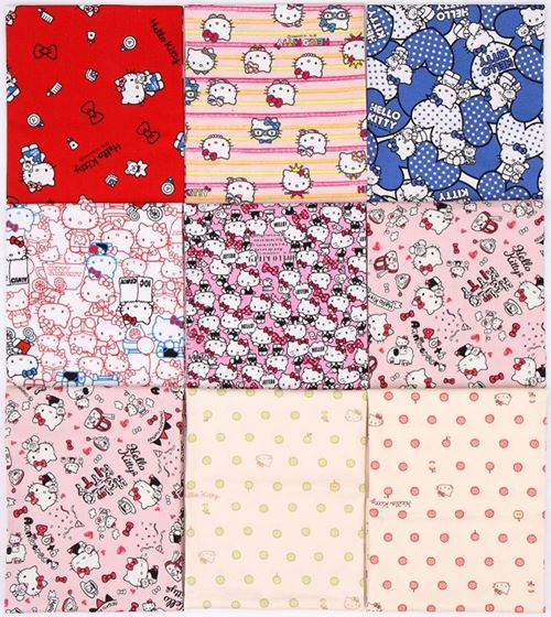 Our Hello Kitty fabric bundle giveaway with Craft Gossip!