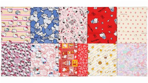 WOW! You stand a chance of winning this kawaii fabric bundle!
