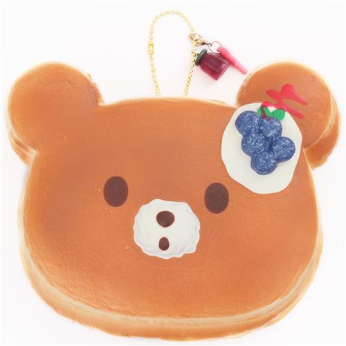 big blueberry bear pancake scented squishy by Puni Maru
