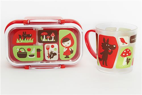 The lovely prize set: a bento box and mug