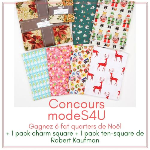 Here's your chance to win an awesome Christmas fabric bundle!