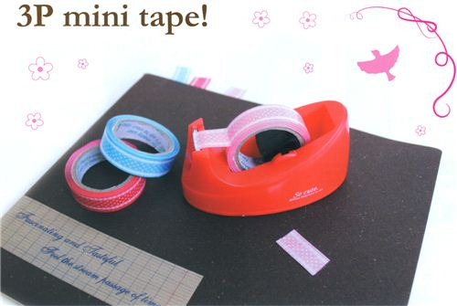 Use it to replace your old adhesive tape in your tape dispenser