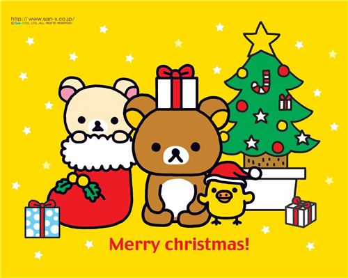 modes4u and Rilakkuma say: Merry Christmas!