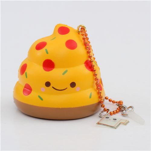 scented pizza Mini Crazy Poo squishy by Puni Maru