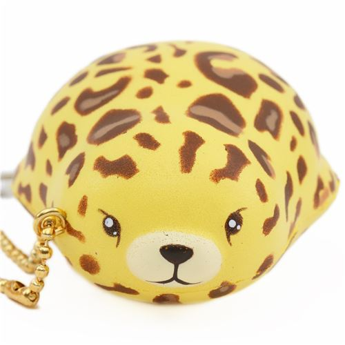 scented mini yellow leopard mochi seal magnetic squishy by Puni Maru