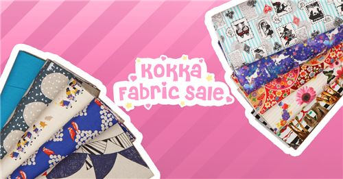 Get beautiful Japanese fabrics at discount prices!!