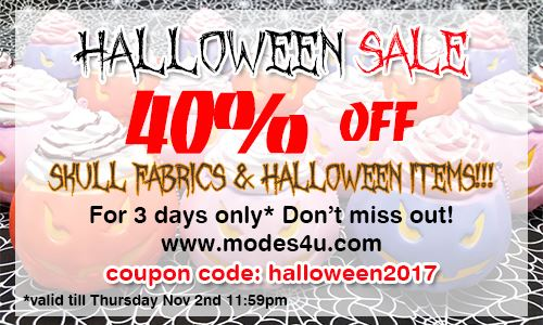 Our Halloween Sale starts NOW! Get 40% OFF Halloween Goodies!  1