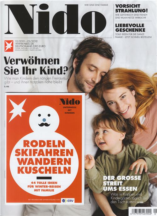 December issue of German Nido magazine