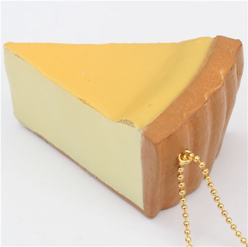 cute plain cheesecake squishy charm kawaii
