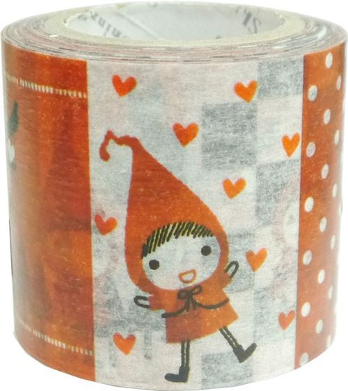 Little Red Riding Hood pattern Washi Masking Tape deco tape Shinzi Katoh