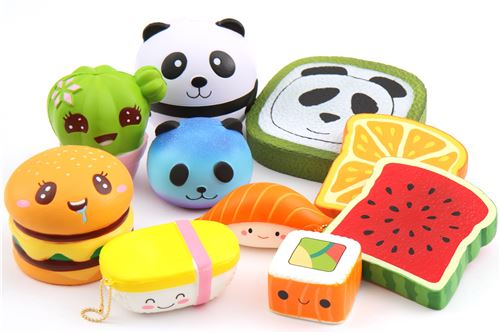 Quirky and Colorful New Squishies!
