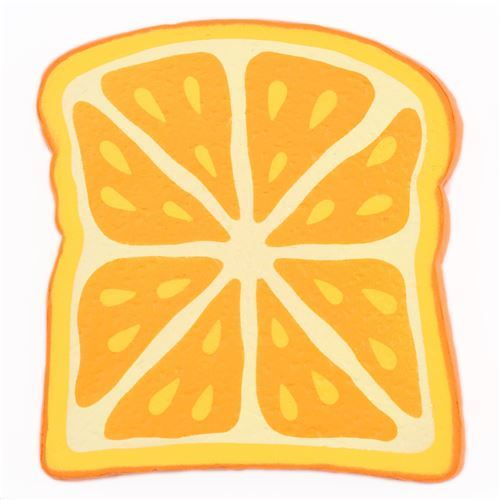 orange bread toast by Joey Squishy