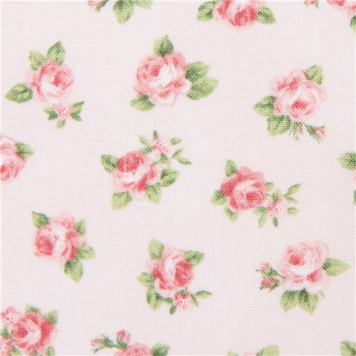 peach Robert Kaufman fabric flower Lady Elizabeth