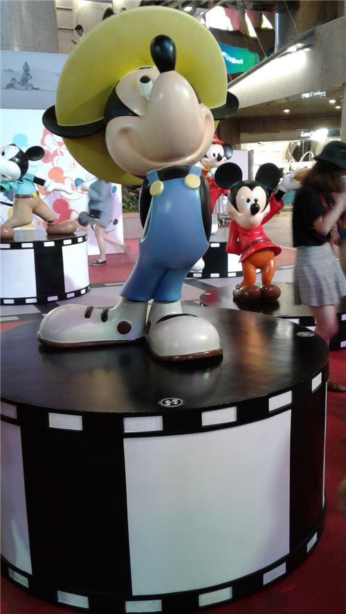 Mickey is super popular all over the world!