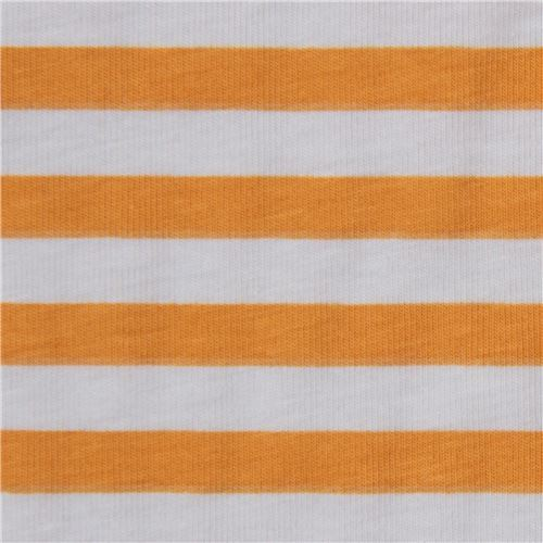 ocre and grey stripe knit fabric Robert Kaufman