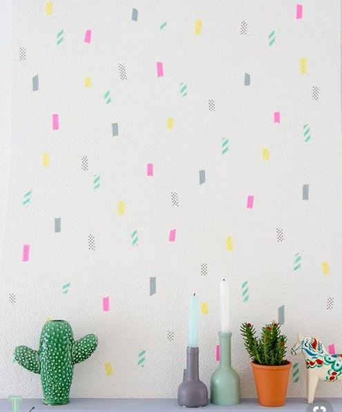 You can do this with just a little washi tape! Image from domino.com