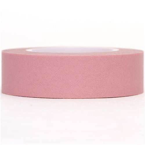 pale pink Washi Masking Tape deco tape from Japan