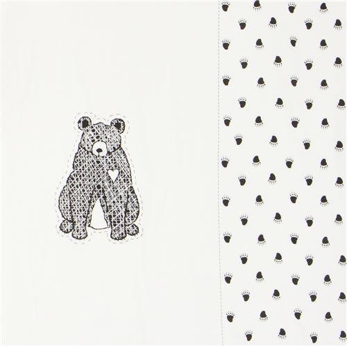 bear panel knit fabric by Stof Fabrics