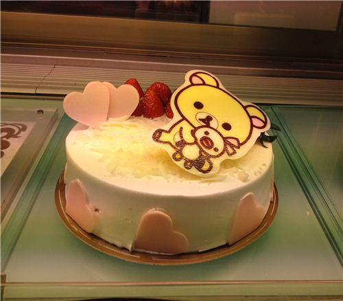 Rilakkuma cake at Saint Honore Cake Shop