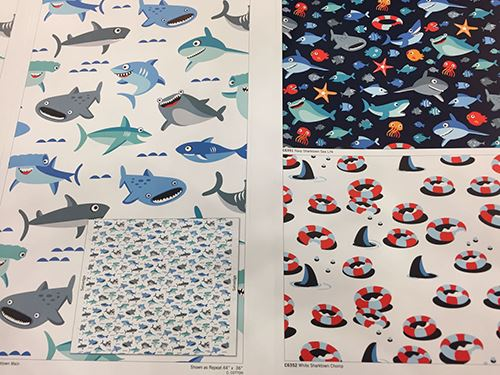 Super cute Riley Blake fabrics designs