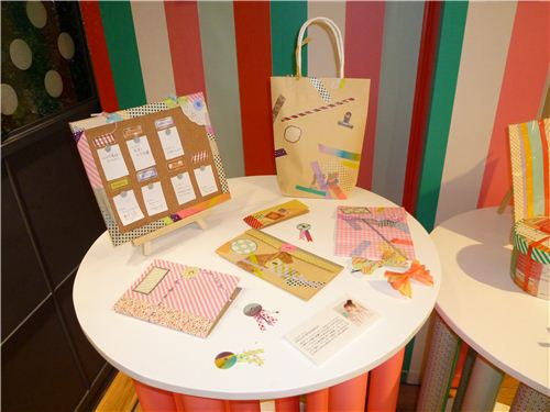 Great for inspiration: Some exhibits of Washi tape stationery